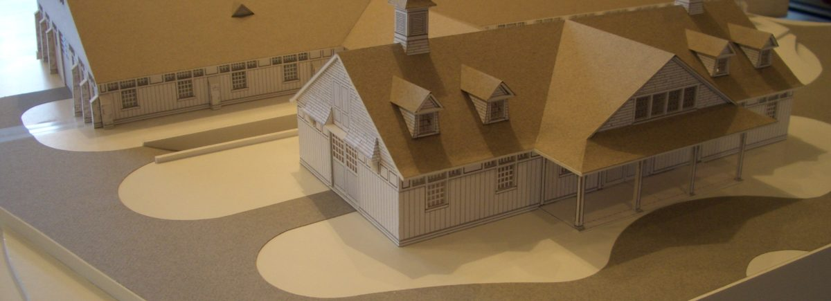 model barn and property