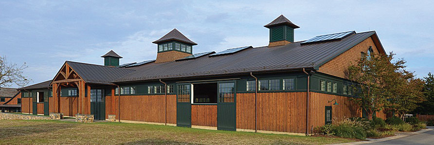 Equestrian Building Projects by Old Town Barns