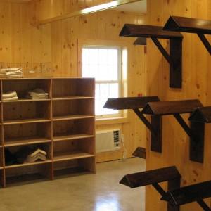 Custom Stable Interior Tack Room