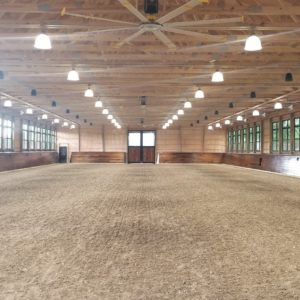 Riding Arena Interior Design by Old Town Barns