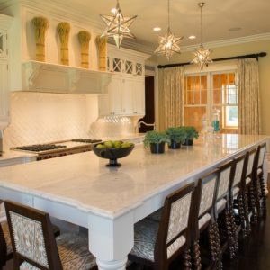 Custom Kitchen Design inside a Custom Riding Arena by Old Town Barns