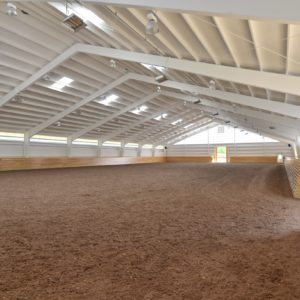 Custom Riding Arena by Old Town Barns