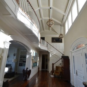 Luxurious Entrance Hall in Residential Living Quarters - Old Town Barns