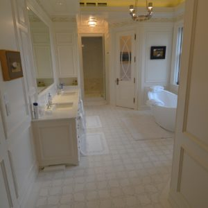 High-end Bathroom in Custom Luxurious Barn Home