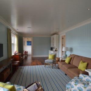 Living Room in a Custom Residential Barn