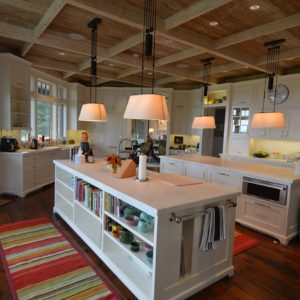 Luxury Kitchen Interior in a Residential Living Quarter