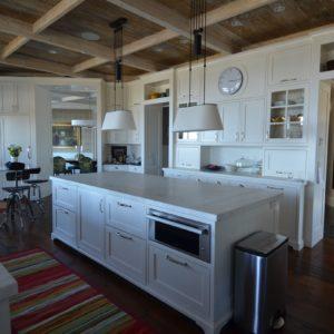 Custom Luxury Kitchen in Custom Barn Home by Old Town Barns