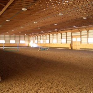 Renovation of an Existing Indoor Riding Arena with an Add-on of a Viewing Room