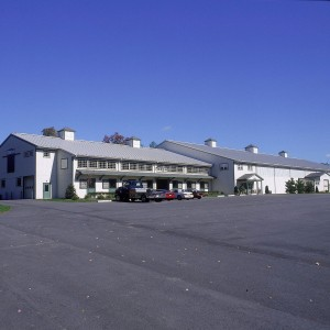 47,000sf complex with 36 12x12 stalls and a 120x250 Indoor Riding Arena