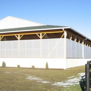 Old Town Barns Built Custom Riding Arena