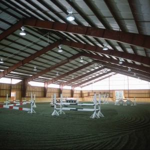 Custom Old Town Barn Builders Riding Arena