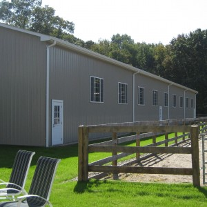 Custom Riding Arenas designed and built by Old Town Barns