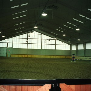 Riding Arena Construction completed by Old Town Barns