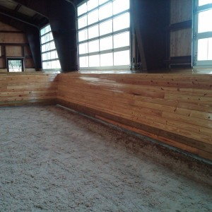 Old Town Barns Riding Arena Construction