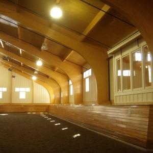 Old Town Barns Interior Riding Arena Construction