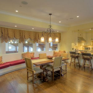Dining Area in a Viewing Room attached to a Riding Arena