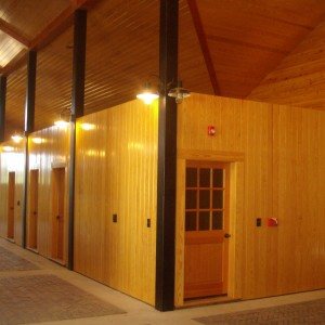Custom Stable Interiors by Old Town Barns