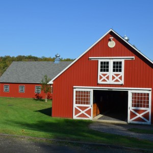 Custom Designed Red Stable by Old Town Barns