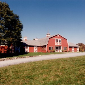 Red Stable Exterior