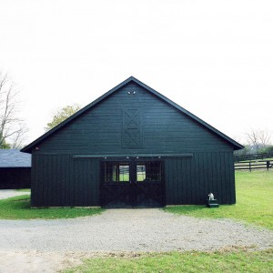 Stable Exterior of a 5 stall barn