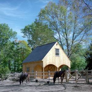 Custom Stable by Old Town Barns